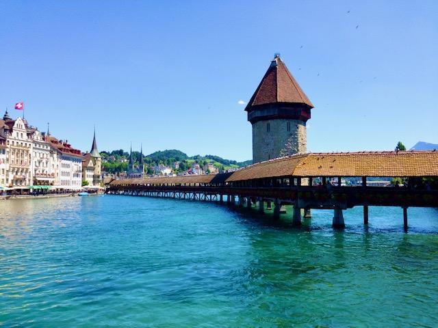 Wasserturm und Kapellbrücke