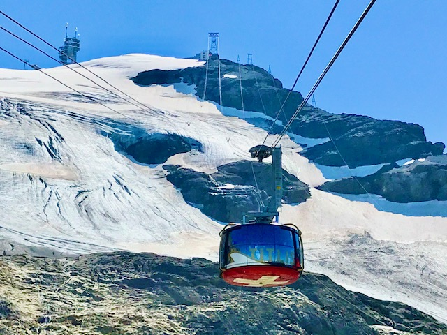 Gletscher Landschaft Titlis